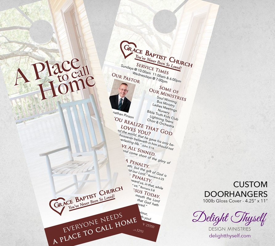 Delight Thyself Design Ministries | Custom Tracts - Delight Thyself ...